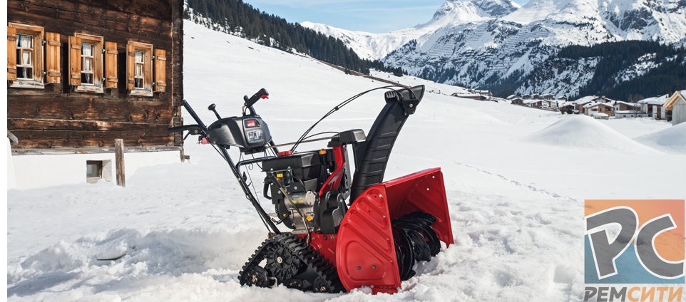 Ремонт снегоуборочных машин в Новосибирске