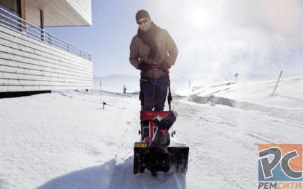 Ремонт снегоуборочной машины
